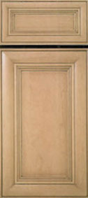 Kitchen Cabinet Refacing Example